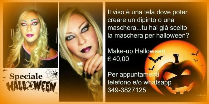 HALLOWEEN MAKE UP SPOSA Clara Molica Nardo Make-Up Torino