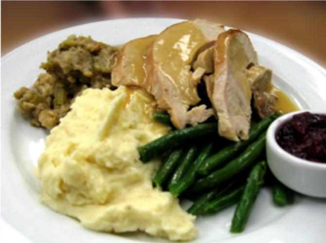 Thanksgiving Dinner at Prairie Grass Cafe