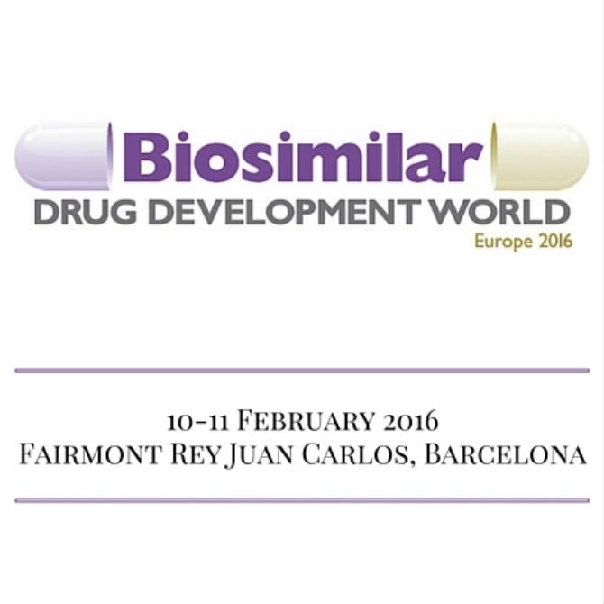 Biosimilar Drug Development World Europe 2016