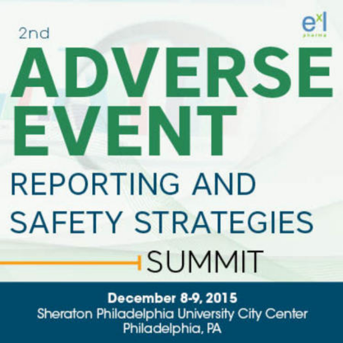 2nd Adverse Event Reporting And Safety Strategies Summit