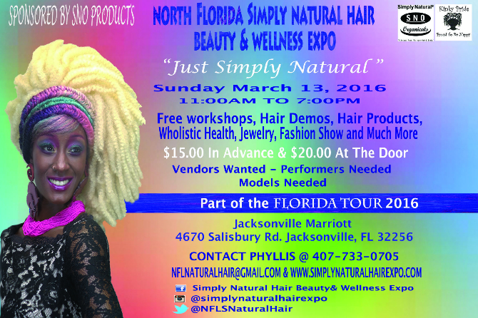 North Florida Simply Natural Hair Beauty Wellness Expo