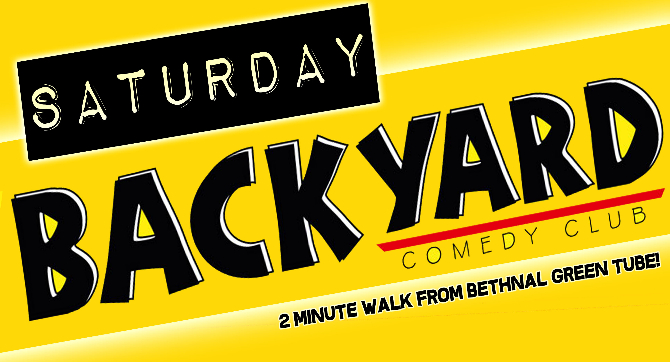 backyard comedy club saturday night