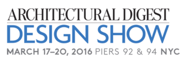 Architectural Digest Design Show 17 Mar 2016