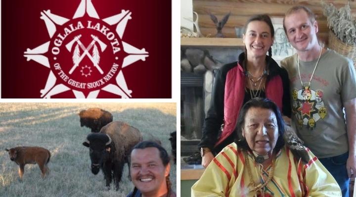 Lakota Vier Richtungen Tour 2016 fuer den Respekt der Erde in Dresden