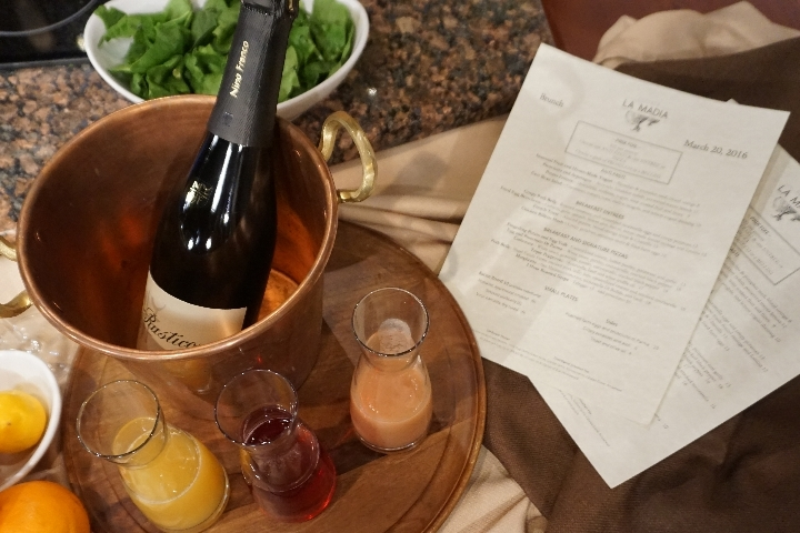 Osteria La Madia Celebrates Mother's Day May 8 with its Unique Rustic Italian Brunch and Special Gifts for Mom