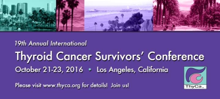 thyca thyroid cancer survivors association inc on evensi