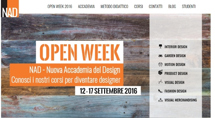 open week nad nuova accademia del design 12 set 2016