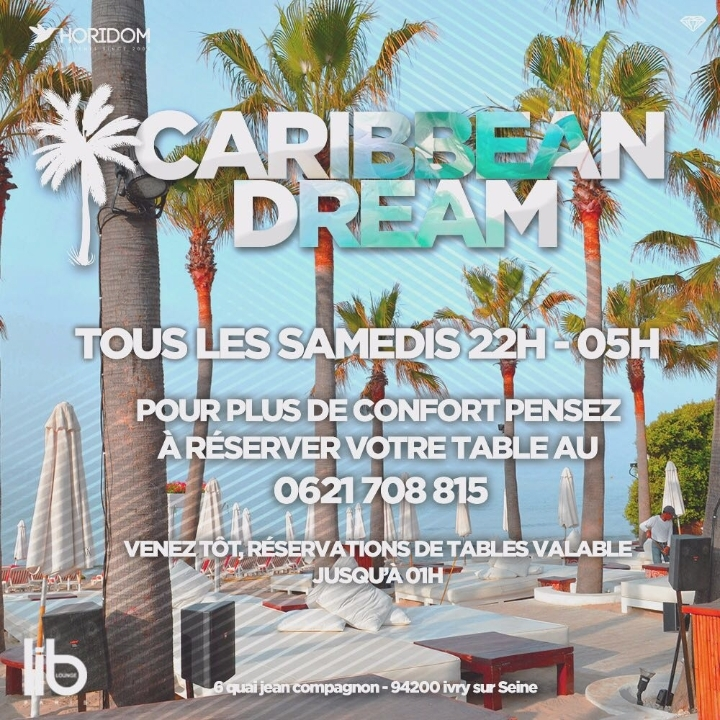 CARIBBEAN DREAM: The Caribbean Spot in Paris