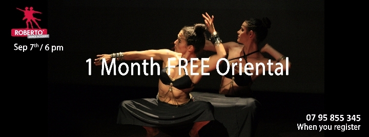 FREE Try Out Oriental (Belly) Dance on Sept 7