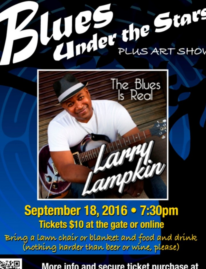 Blues Under the Stars with Larry Lampkin