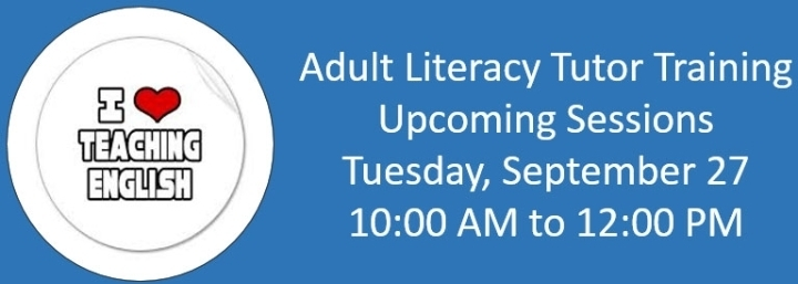 Adult literacy volunteer