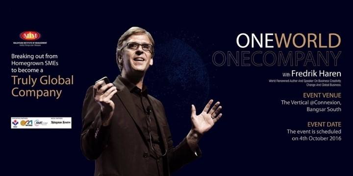 ONE WORLD. ONE COMPANY. � with Fredrik Haren
