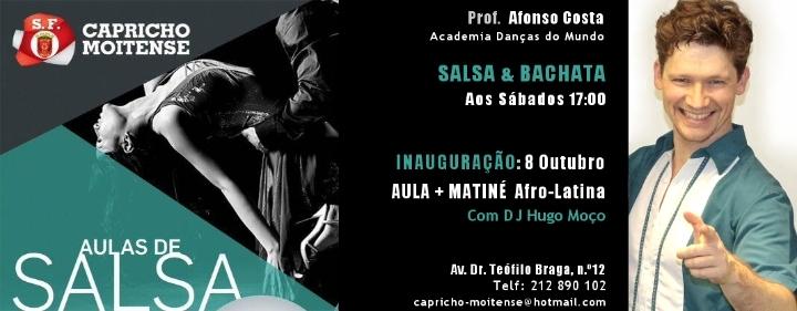 Inauguração: Salsa & Bachata na Moita + Matin