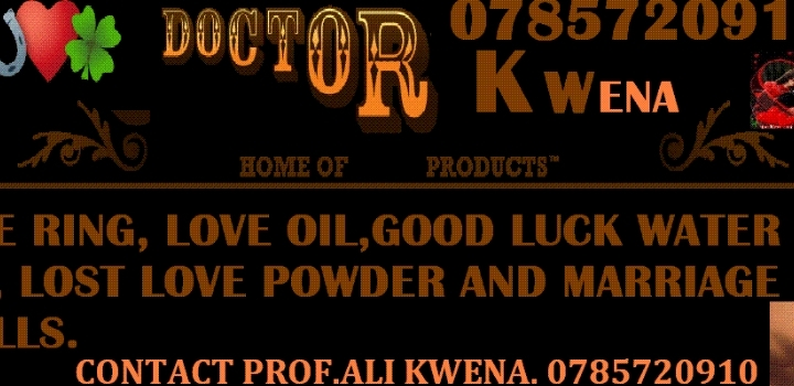 welcome to prof Ali kwena`s home spells & tra