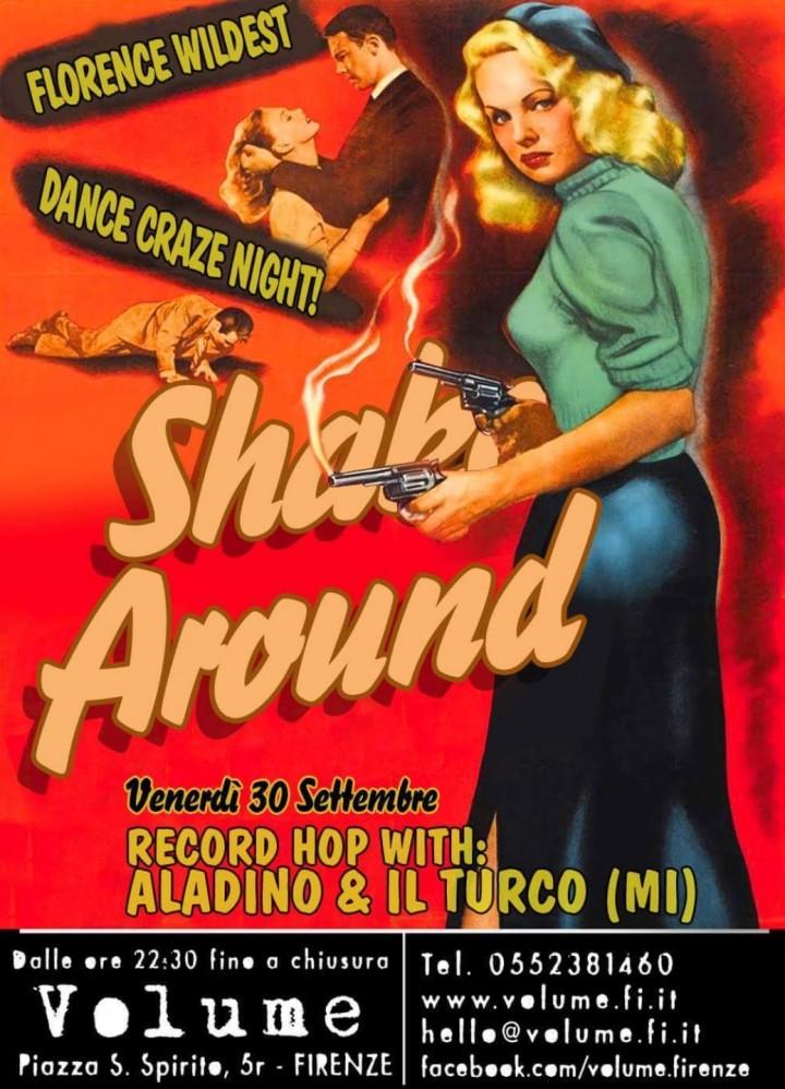 SHAKE AROUND NIGHT - WILDEST DANCE 50S 60S SO