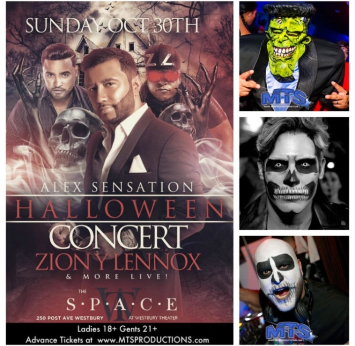 Halloween Concert at Space Westbury Live Zion