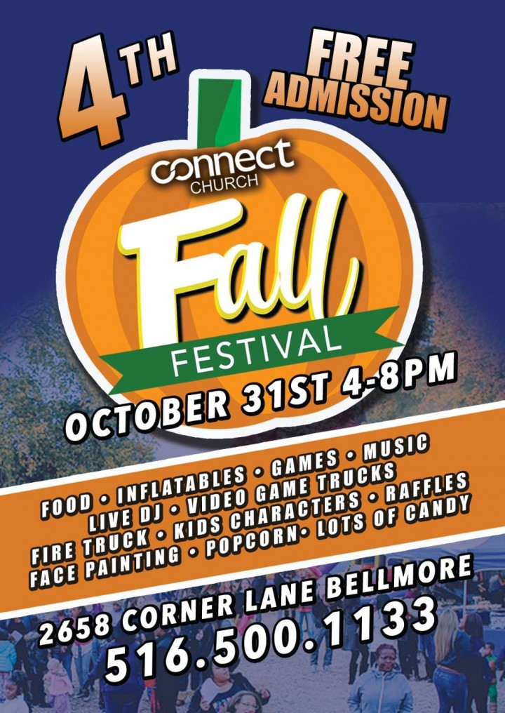 FREE FALL FESTIVAL AT CONNECT CHURCH
