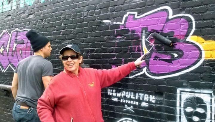 INTRO TO GRAFFITI - AEROSOL ART WORKSHOP