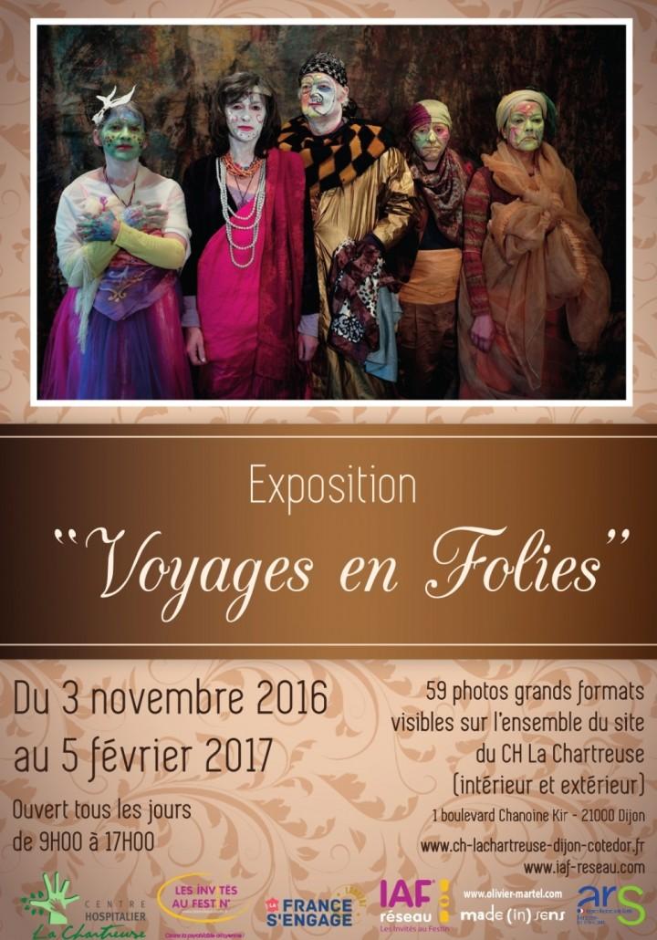 """Exposition """"Voyages en Folies"""""""