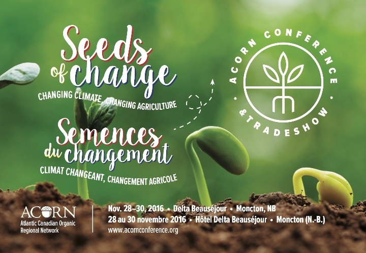 ACORN Conference - SEEDS OF CHANGE: Changing