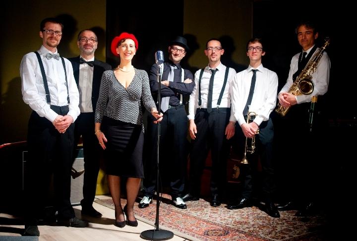 Suoni e atmosfere vintage e pop sofisticato con la Vagamente Retrò Orchestra sabato 10 dicembre al Bonaventura di Milano