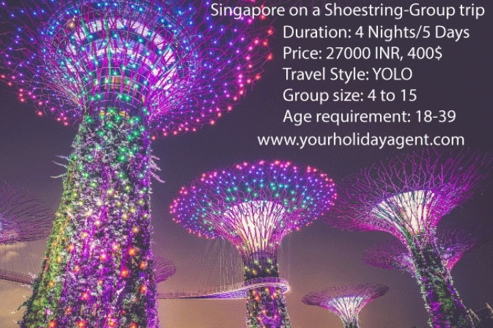 Singapore on a shoestring- Group Trip