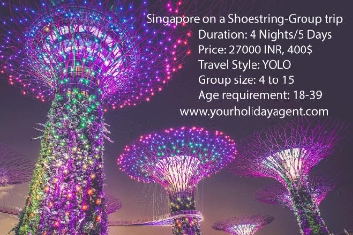 Singapore Group Trip- 4 Nights/5 Days