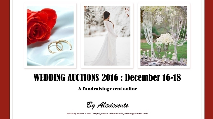 Wedding Auctions 2016