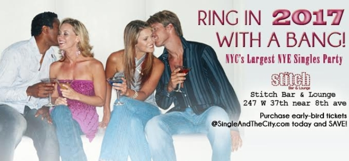 NYC's Hottest New Year's Eve Singles Party