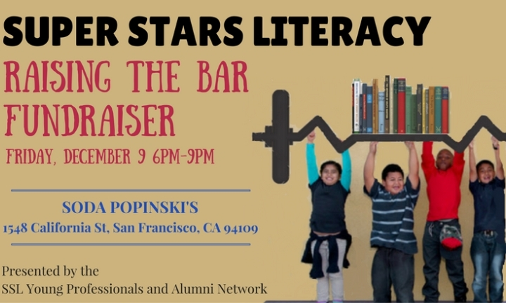 Super Stars Literacy Fundraiser at Soda Popin