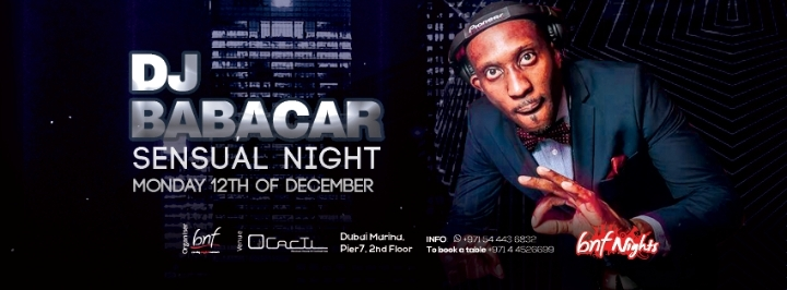 DJ Babacar at bnf Nights! 100% Kizomba