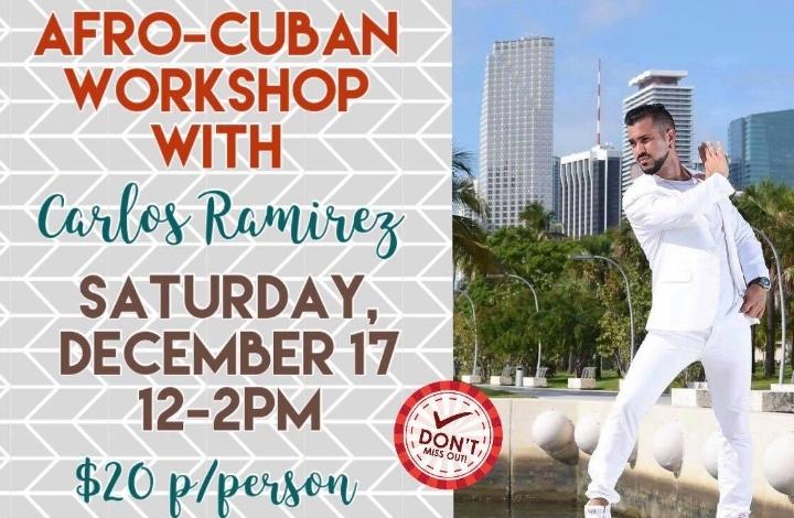 Afro Cuban Dance Workshop