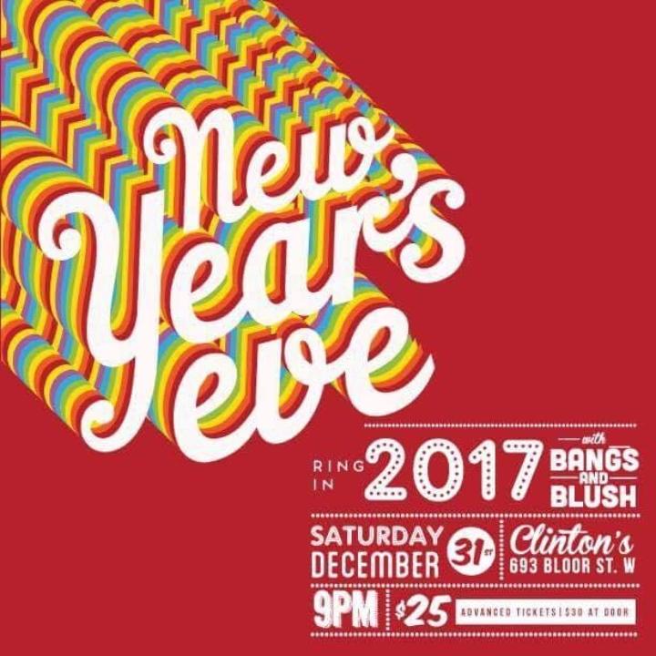 Bangs & Blush NYE 2017