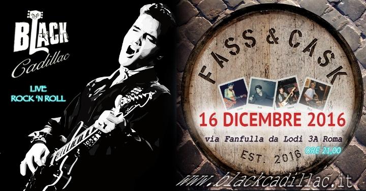 Blackcadillac Band al Fass & Cask - Live Rock
