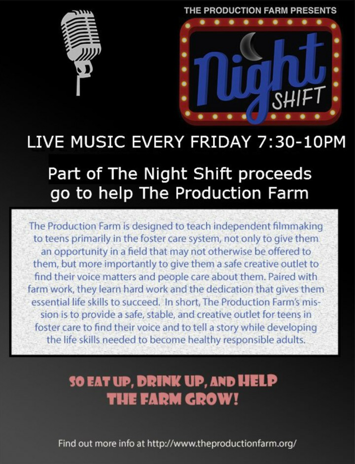 Night Shift Presented by The Production Farm