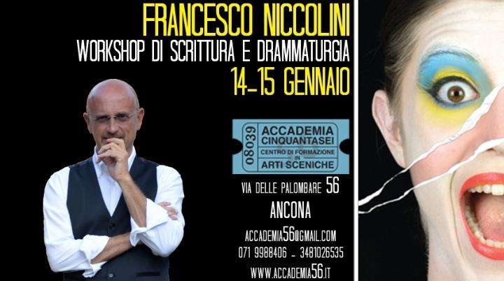 Workshop di scrittura e drammaturgia a cura di Francesco Niccolini
