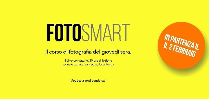 Fotosmart, il corso di fotografia del giovedì sera