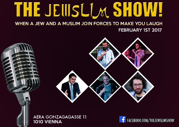 The Jewslim Show #3 -  English Comedy Night