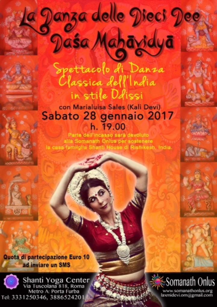 La Danza delle Dieci Dee Dasa Mahavidya - spe