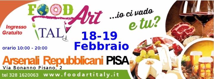Food Art Italy Pisa 18 e 19 febbraio 2017