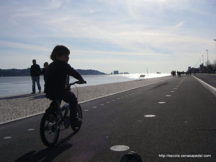 Passeio de bicicleta | Alcântara - Jamor