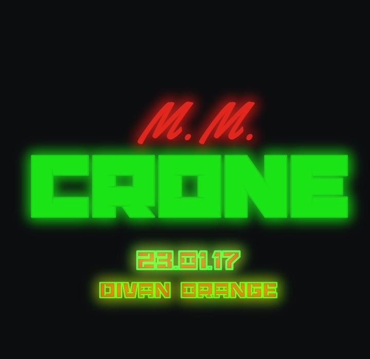 M.M. CRONE - Divan Orange 23/01/2017