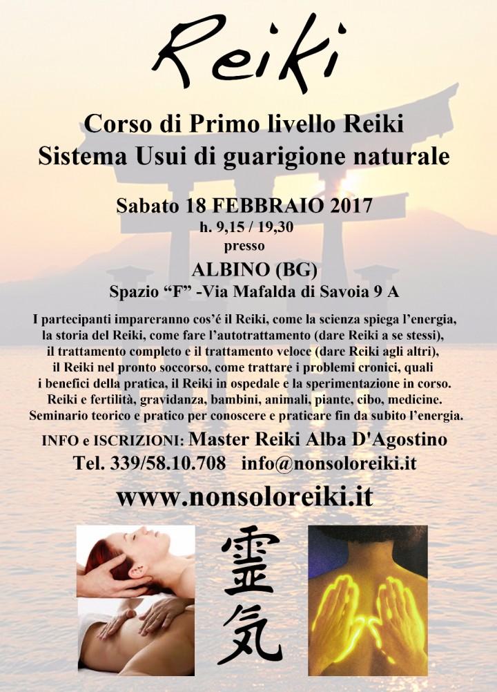 PRIMO LIVELLO REIKI - Albino (BG)