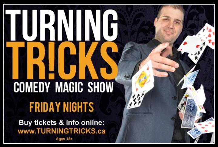 Turning Tricks Comedy Magic Show