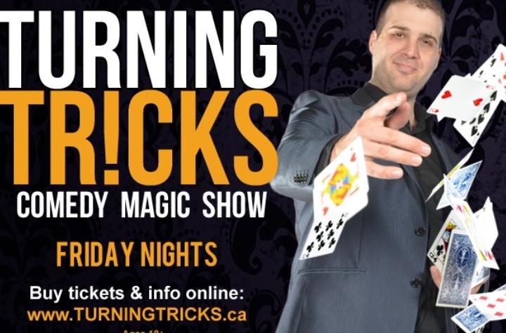 Turning Tricks, Comedy Magic Show