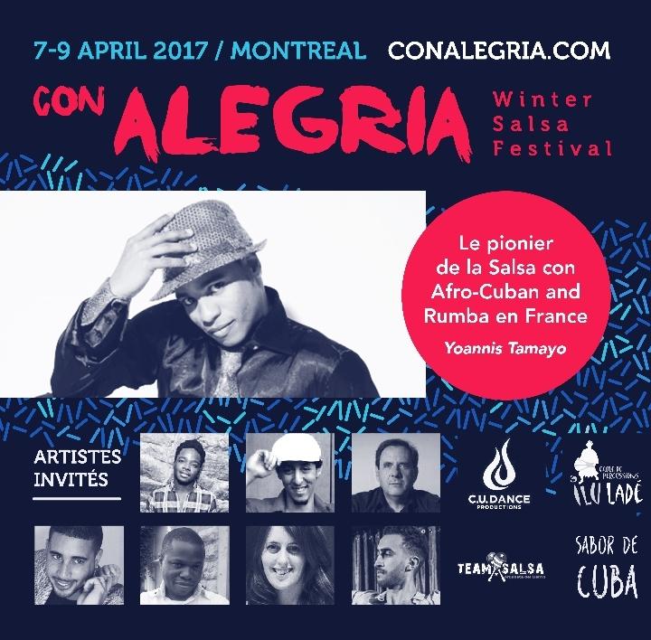Con Alegria Montreal Winter Salsa Festival 2n