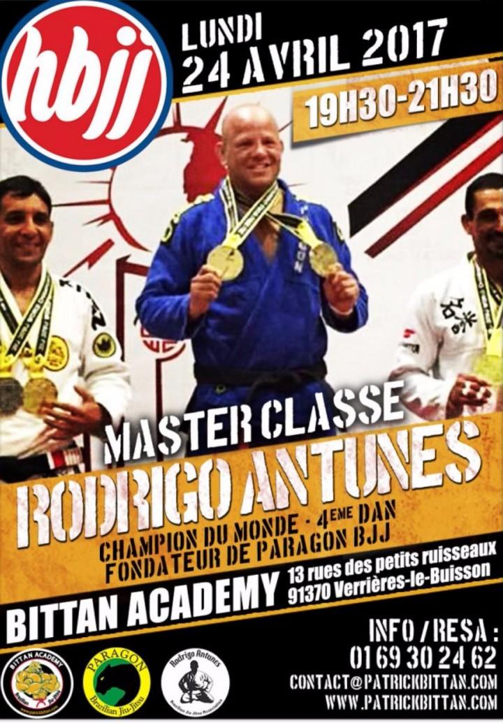 Master classe Rodriguo Antunes