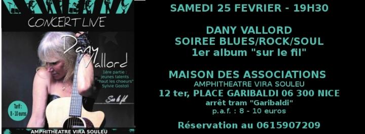 DANY VALLORD Rock/Blues/Soul