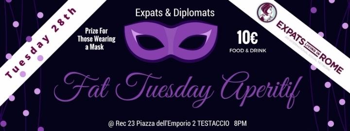 Rome Expats Fat Tuesday Aperitif