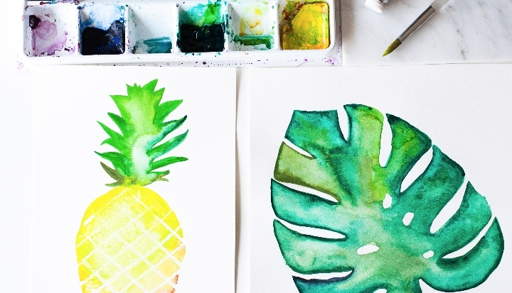 Tropical Watercolor Workshop